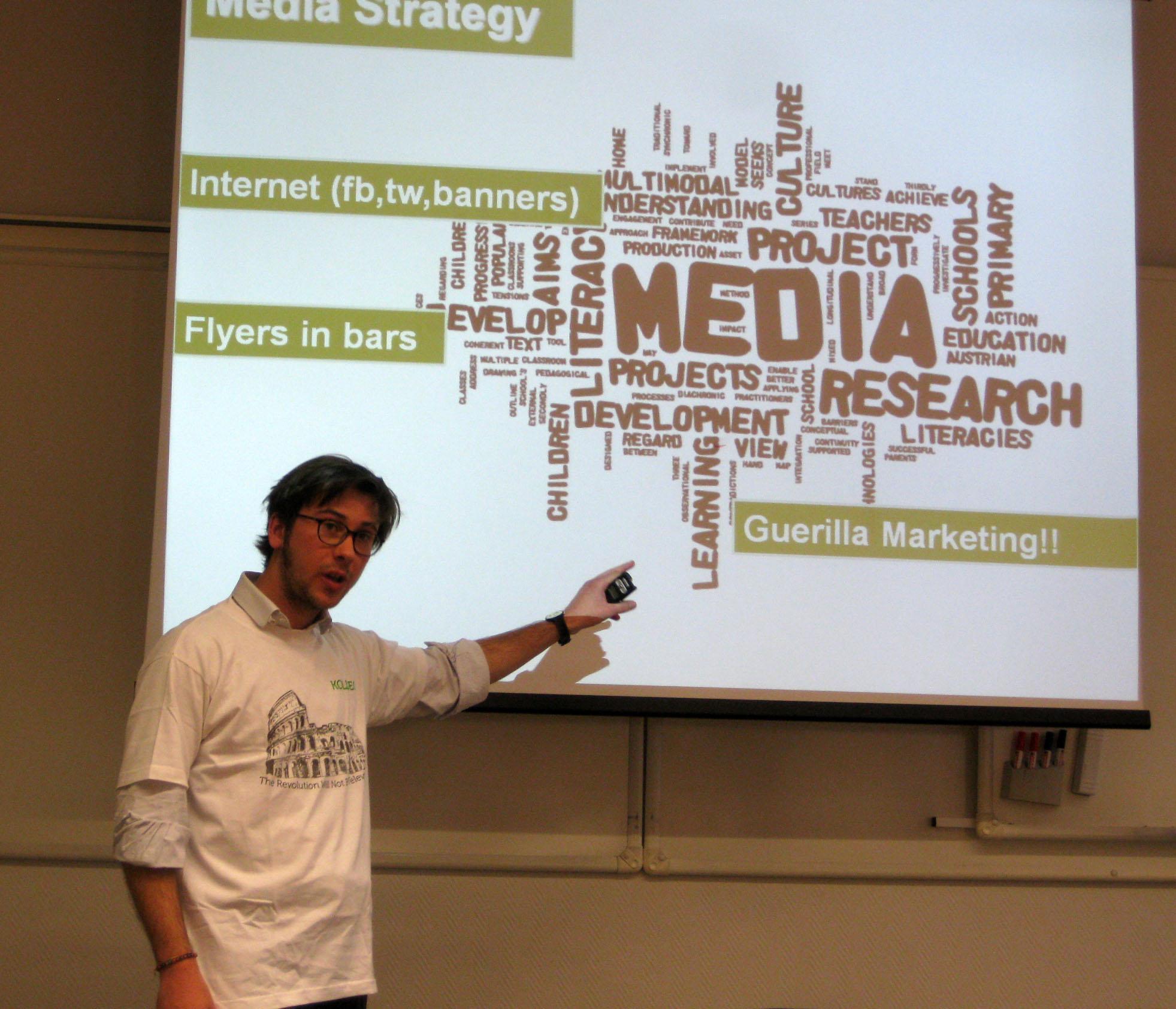 Marketing Presentation?!?!?