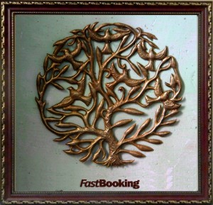 Tree Of Life _ Brass Metal Art_Frame Elements